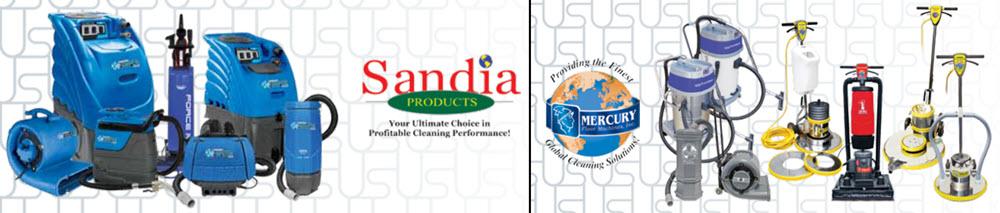 Sandia-Mercury Floor Cleaning equipment Kentucky